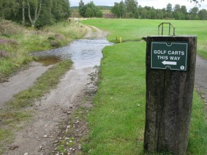 Golf in the Highlands requires you to bring your sense of humour