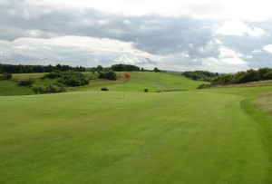 The heathland feel of the 12th at Glenrothes
