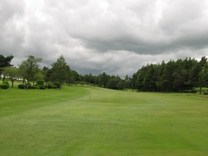 1st tee at Glenrothes