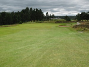 12th green Grantown on Spey