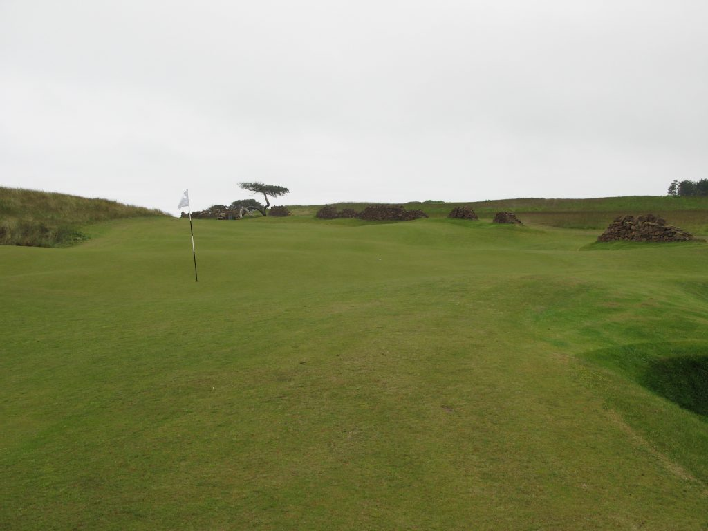 The large 8th Green at The Renaisannce