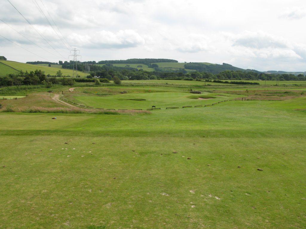 The Par 3 4th at SRUC Elmwood golf course