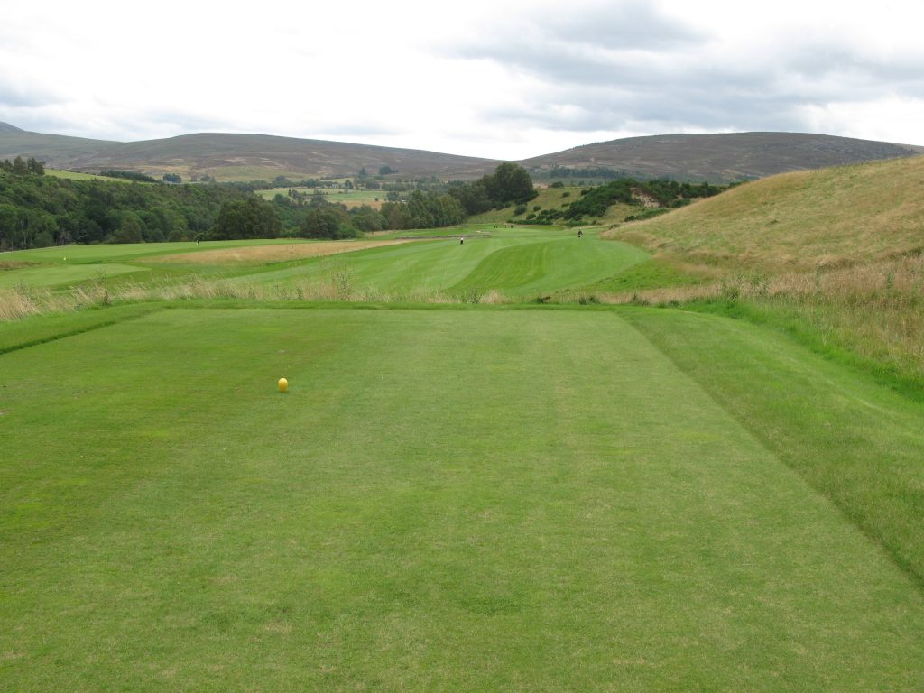 The 12th tee at Ballindalloch