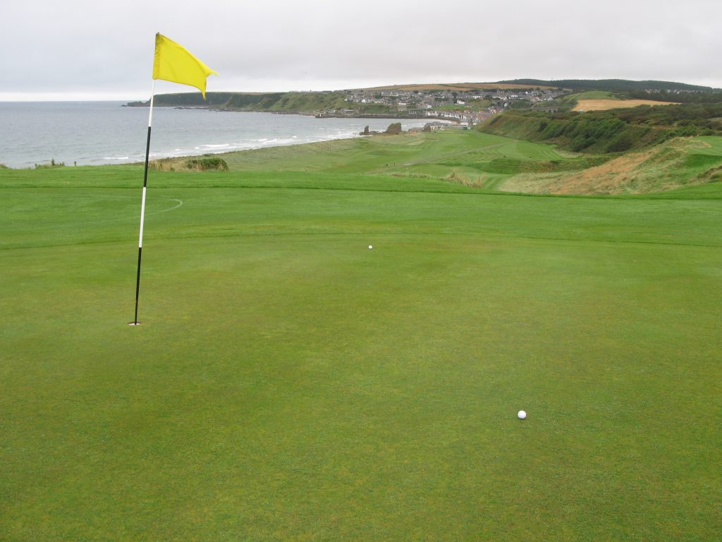 4th green, with views towards Cullen